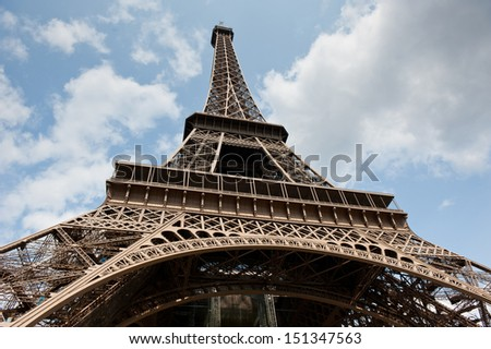 Eiffel Tower in Paris. France