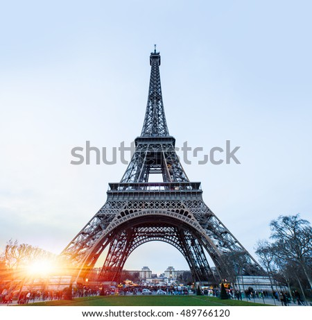 Eiffel tower, Paris. France