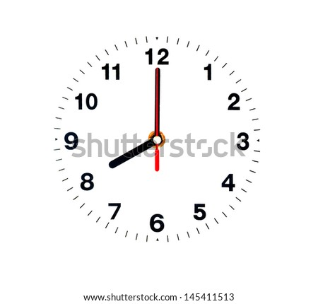Eight clock isolated