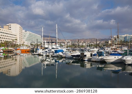 Eilat, Israel - stock photo