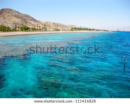 Eilat, Red Sea - stock photo