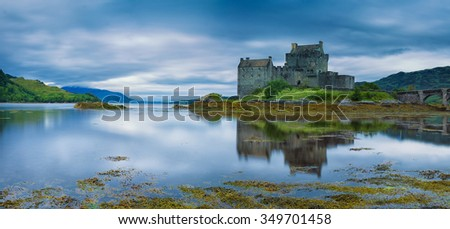 Eilean Donan Castle, Early Morning