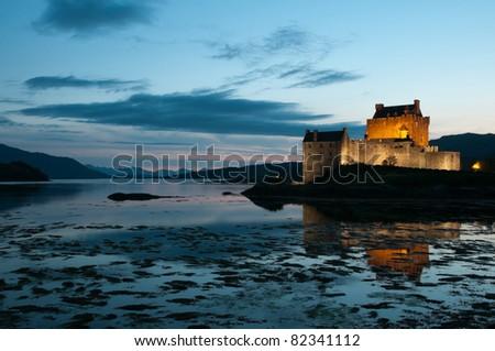 Eilean Donan Castle, Scotland. - stock photo