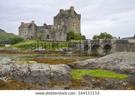 Eilean donan castle, Scotland. UK. - stock photo