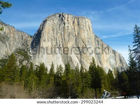 El Capitan, Yosemite, California - stock photo
