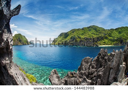 El Nido, Palawan, Philippines - stock photo