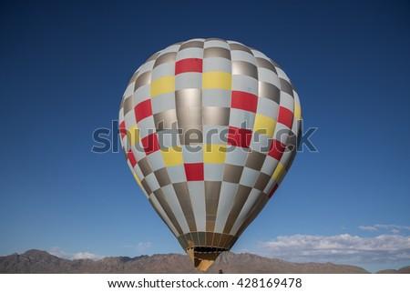 EL PASO ?? MAY 29.  The 2016 El Paso Balloon Festival was held at the Bowen Ranch May 29, 2016 in El Paso, Texas. - stock photo