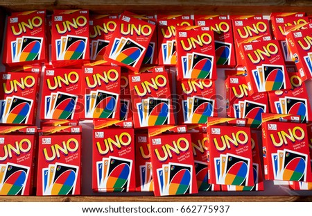 Uno card game stock images royalty free images vectors - Stock uno alicante ...
