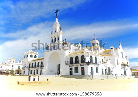 el rocio city - stock photo