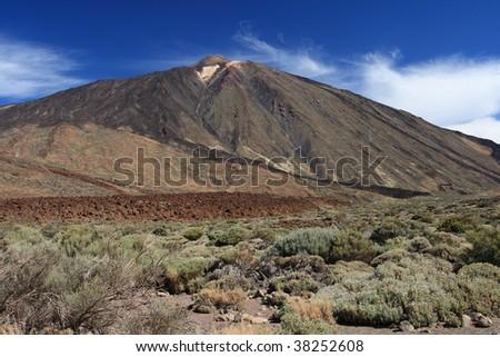 El Teide - stock photo