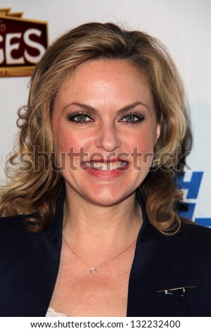 "Elaine Hendrix at the ""Catch Me If You Can"" Opening Night, Pantages, Hollywood, CA 03-12-13"