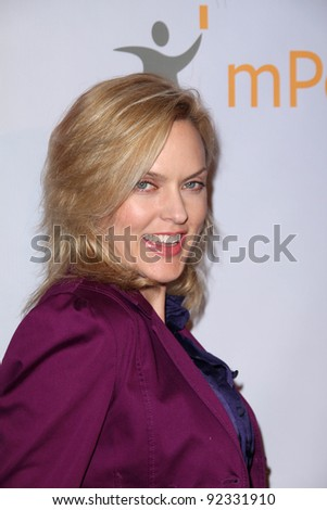 Elaine Hendrix  at the Global Action Awards Gala, Beverly Hilton Hotel, Beverly Hills, CA. 02-18-11