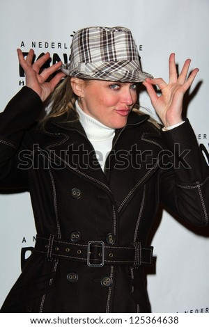 "Elaine Hendrix at the ""Peter Pan"" Opening Night, Pantages, Hollywood, CA 01-15-13"