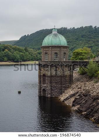 Elan Valley reservoir - stock photo