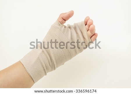 elastic and bandage and medical
