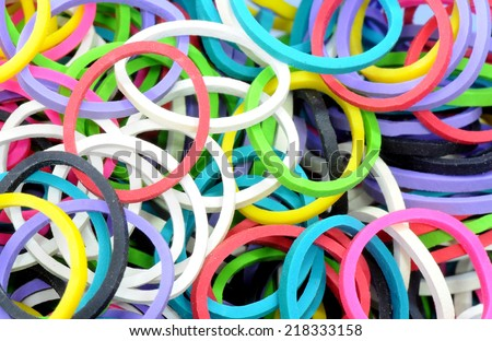 Elastic Colorful rubber bands