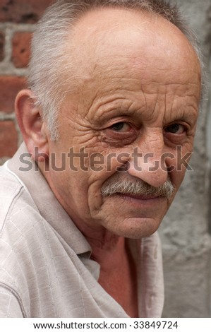 Elderly Eastern European Man