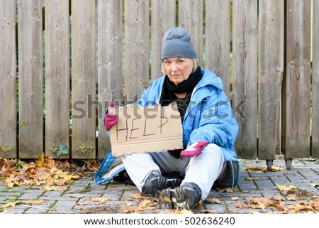 Homeless Woman Stock Images Royalty Free Images Amp Vectors