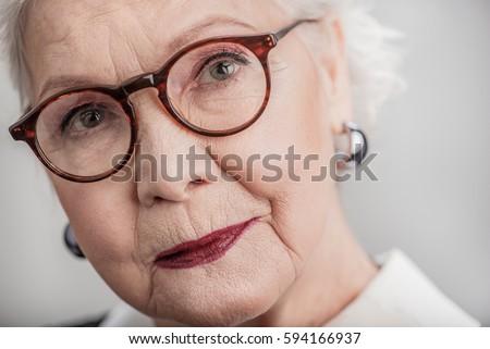 1ef7e0a7b9e0 Old Woman Portrait Stock Images