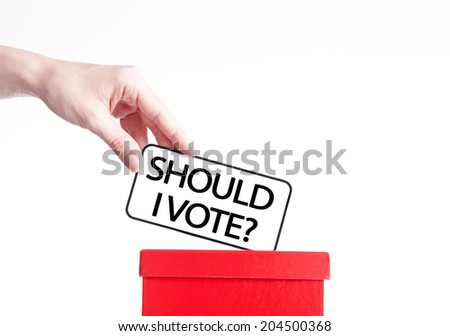 election campaign,voting  - stock photo
