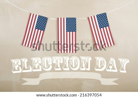 Election Day - stock photo
