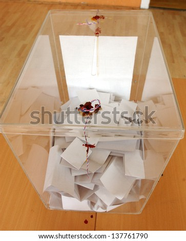elections - stock photo