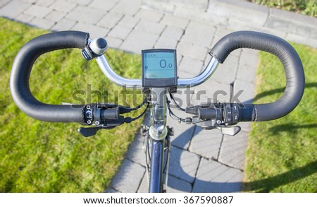 Motorized Bicycle Stock Images Royalty Free Images Vectors