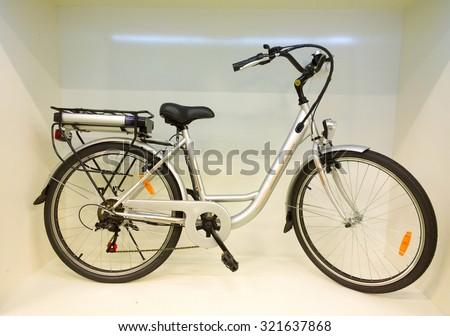 Electric bike. - stock photo