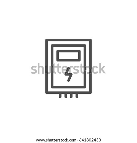 electrical fuse stock images, royalty-free images ... fuse box icon #9