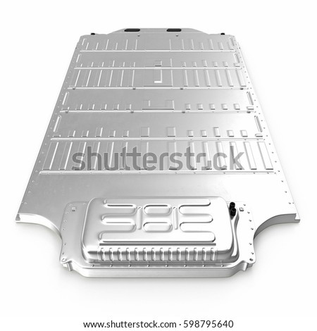 Electric car battery pack on white stock illustration 598795640 electric car battery pack on white 3d illustration malvernweather Gallery