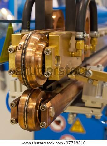 Electric cutting machine - stock photo