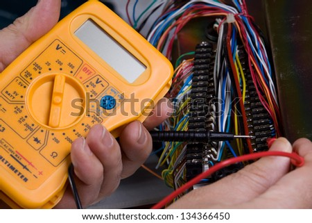 electric device - stock photo