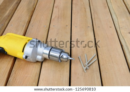 Electric Drill - stock photo