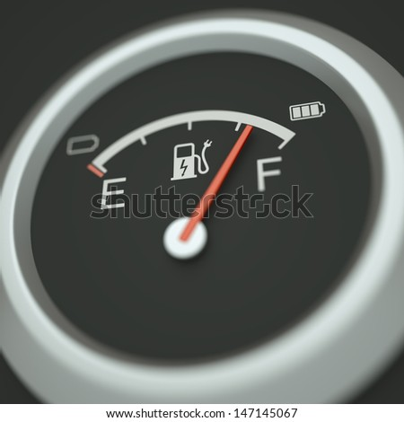 "Electric ""Fuel Meter"""