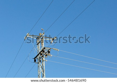 electric grid tower