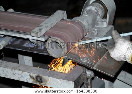 Electric grinder - stock photo