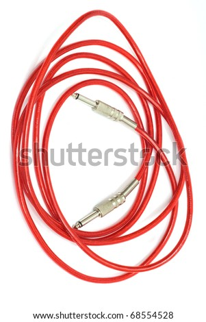 Red Wire Isolated Stock Images, Royalty-Free Images & Vectors ...