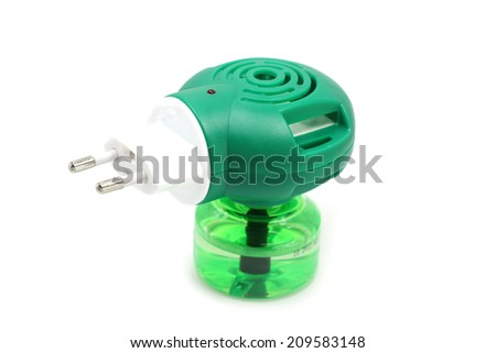 electric insecticide on a white background