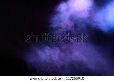 Electric lighting on entertainment concert - stock photo
