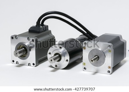 Electromotor stock images royalty free images vectors for Ac dc electric motors