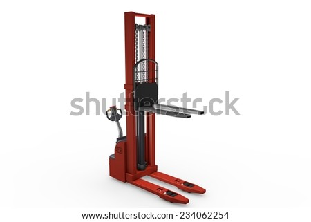 Electric pallet - stock photo