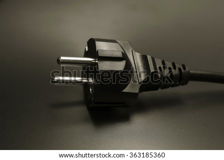 electric plug,electric plug,the cable is energized,the electrical connector,the contact wire - stock photo