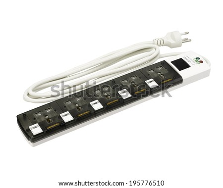 electric power bar isolated