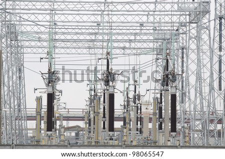 Electric Power Transformers at Thermal Power Plant