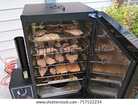 Smokehouse stock images royalty free images vectors for Smoking fish electric smoker