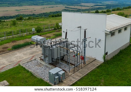 Electric transformer.