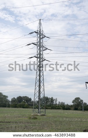 Electric transformer station