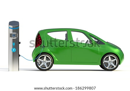 Electric Vehicle Charging Station II. Go Green- Concept