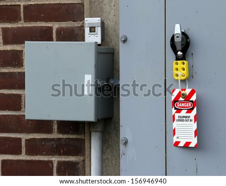 Lock Out Tag Out Stock Photos Images Amp Pictures
