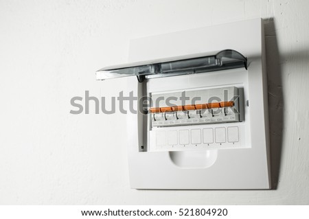 fuse box stock images royalty images vectors shutterstock electrical panel fuses in home white panel